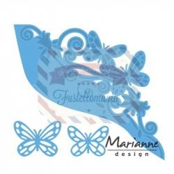 Fustella metallica Marianne Design Creatables Butterfly Border