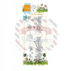 Timbri Marianne Design Clear Stamps Hetty's Border Flower Meadow
