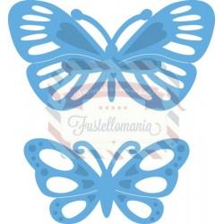 Fustella metallica Marianne Design Creatables Tiny's butterflies 2