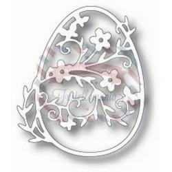 Fustella metallica Tutti Designs Floral Daisy Egg