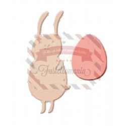 Fustella metallica Coniglietto con uovo
