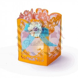 Fustella Sizzix Thinlits Floral Lantern