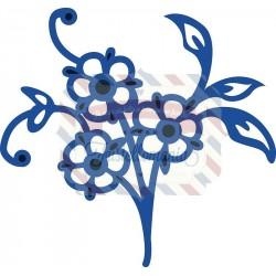 Fustella metallica Marianne Design Creatables Tiny's flowers 4