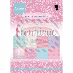Carta da scrapbooking Marianne Design pretty papers Fleurique