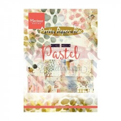 Carta da scrapbooking Marianne Design Bloc Tiny Mixed Media Pastels