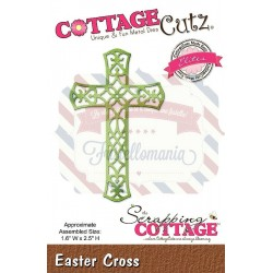 Fustella metallica Cottage Cutz Easter Cross