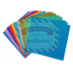 Carta da scrapbooking Cardstock 40 fogli 15x15