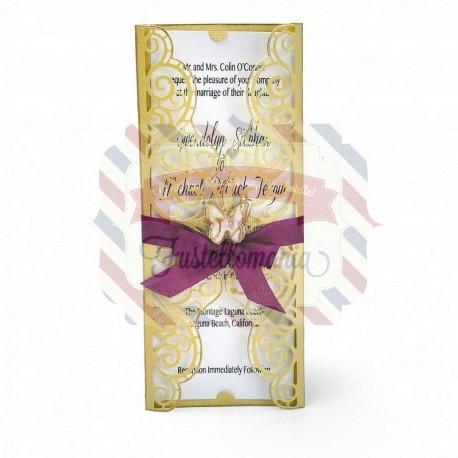 Fustella Sizzix Thinlits Invitation Wrapper