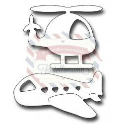 Fustella metallica Baby Aircraft