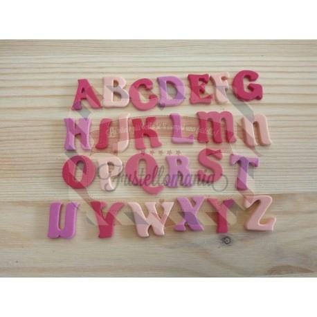 Fustella metallica Alfabeto maiuscolo Cut 1