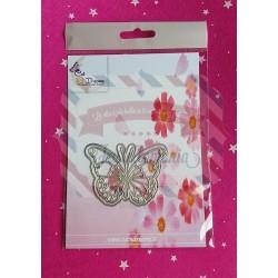 Fustella metallica Farfalla set 2 pezzi