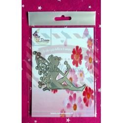 Fustella metallica Fatina con fiore