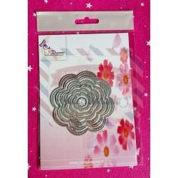 Fustella metallica Set di fiori 7 pezzi