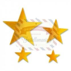 Fustella Sizzix Originals Stars 2