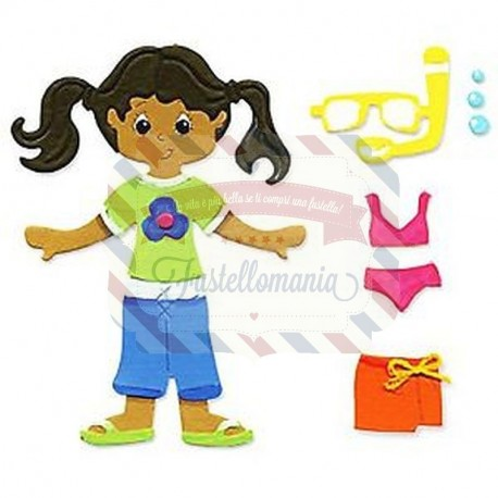 Fustella Sizzix Originals Dress Ups Summer Outfit