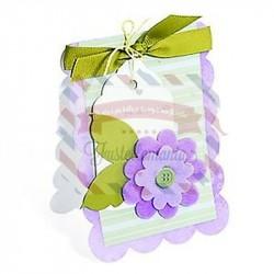 Fustella Sizzix BIGz XL Card Scallop
