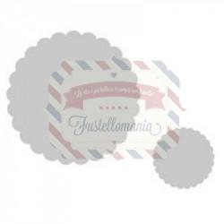 Fustella Sizzix Framelits Small Scallop Circles