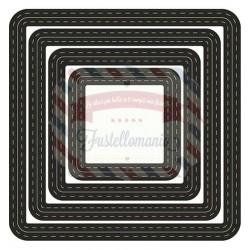 Fustella metallica Marianne Design Craftables Basic Passe partouts squares