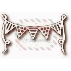 Fustella metallica Tutti Designs Party Banner