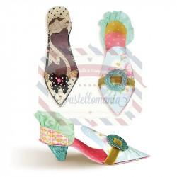 Fustella Sizzix BIGz L Ballroom Slippers