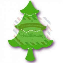 Fustella Sizzix Originals Green Tree