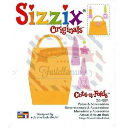 Fustella Sizzix Originals Purse & Accessories