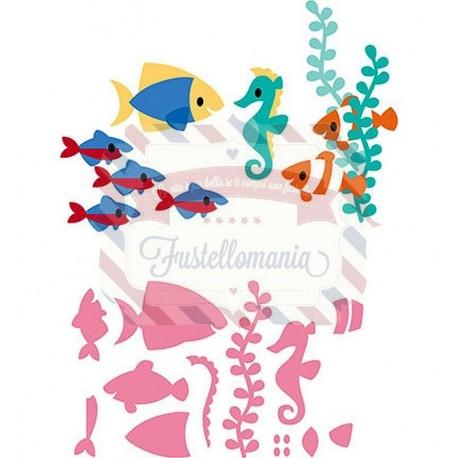 Fustella metallica Marianne Design Collectables Eline's Tropical Fish