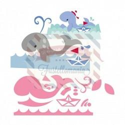 Fustella metallica Marianne Design Collectables Eline's Whale