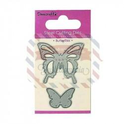 Fustella metallica Dovecraft Butterflies