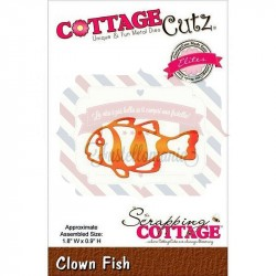 Fustella metallica Cottage Cutz Clown Fish