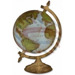 Fustella Sizzix Bigz Vintage Globe