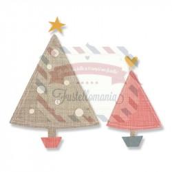 Fustella Sizzix Bigz Oh Christmas Tree by Samantha Barnett