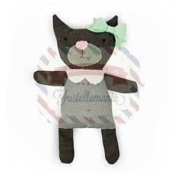 Fustella Sizzix A4 Cat Softee