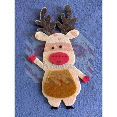 Fustella L Renna di Babbo Natale