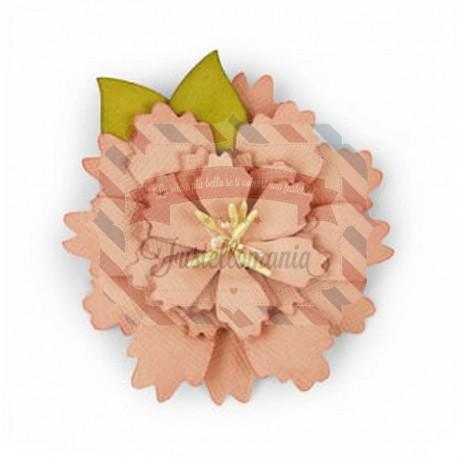 Fustella Sizzix Bigz Wild layered flower