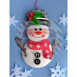 Fustella L Pupazzo di neve