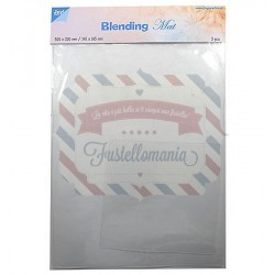 Blending mat transparent