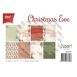 Carta da scrapbooking Joycrafts Paper Set A4 Merry Christmas 12 fogli