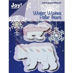 Fustella metallica Joy! Crafts Cutting & Embossing Polar Bears