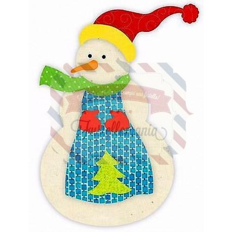 Fustella Sizzix BIGz L Snowman