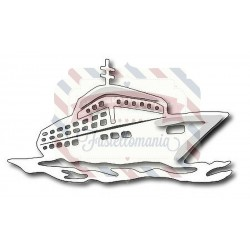Fustella metallica Cruise Ship