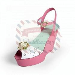 Fustella Sizzix PRO Wedge Shoe Box