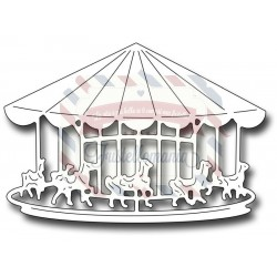 Fustella metallica Carousel