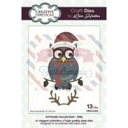 Fustella metallica Creative Expressions Owl