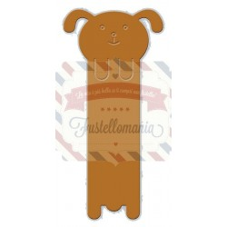 Fustella metallica Dog Bookmark