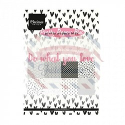 Carta da scrapbooking Marianne Design Bloc Do What You Love