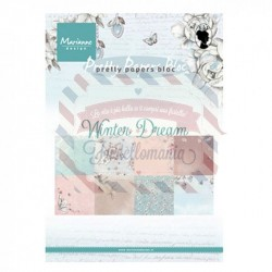 Carta da scrapbooking Marianne Design Bloc Winter Dream