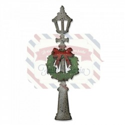 Fustella Sizzix Bigz Lamp Post by Tim Holtz