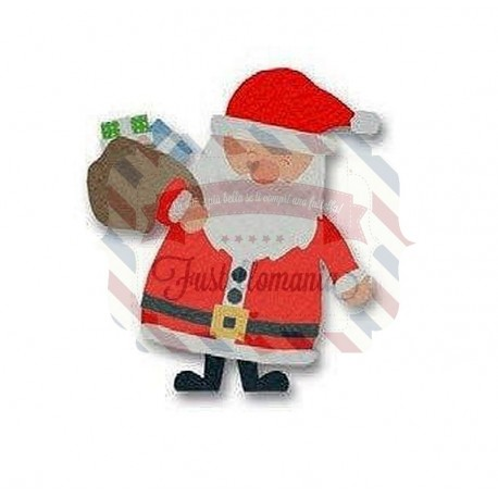 Fustella Sizzix Bigz L Babbo Natale e Regali