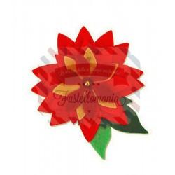 Fustella Sizzix Bigz Pretty Poinsettia